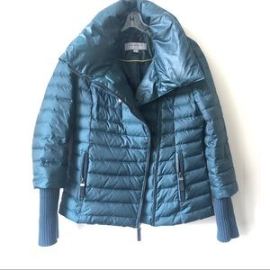 Marc New York Sparks Asymmetrical Puffer Jacket